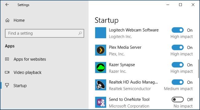 Автозагрузка в Windows 10. Настройка Windows 10