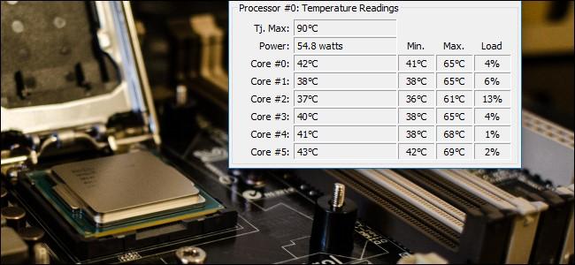 Температура процессора. Как узнать температуру процессора.