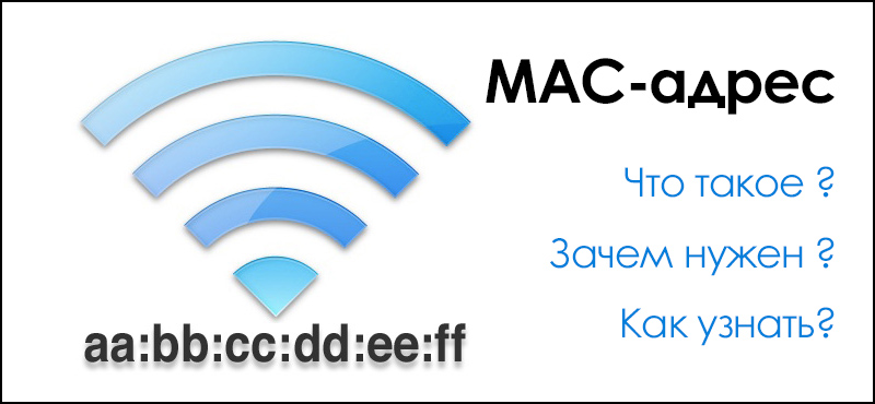 Что такое MAC-адрес? Как узнать MAC-адрес? Wi-Fi