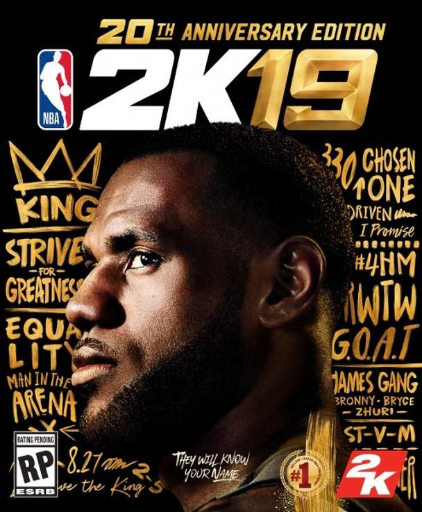 NBA 2K19 обложка