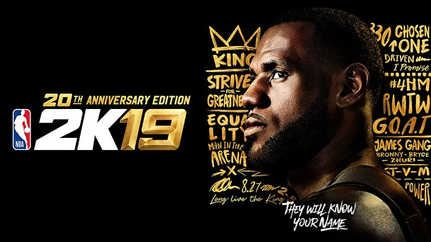 NBA 2K19 special 20th Anniversary Edition