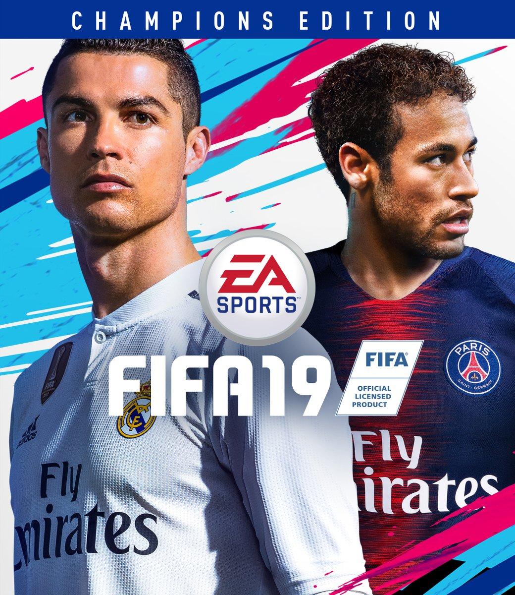 FIFA 19 обложка