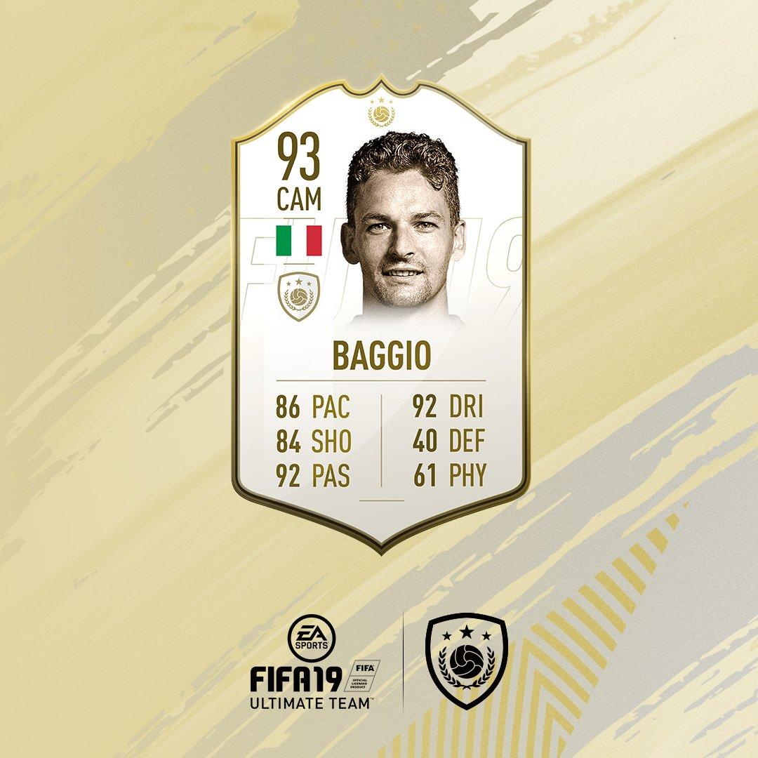 Карточки (ICONS) FIFA 19