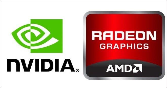 графические процессоры nvidia и amd